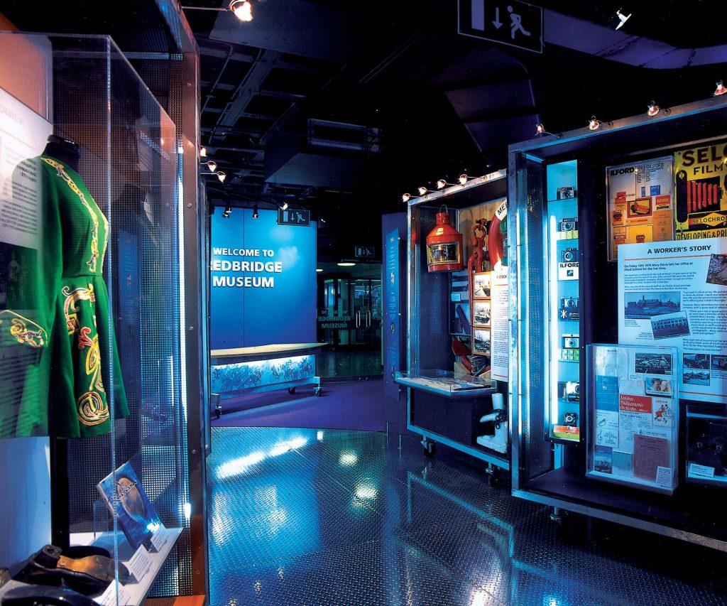 inside view of redbridge museum displays