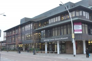 Outside view of Redbridge Central Library