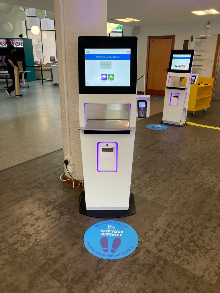 self service machines in library