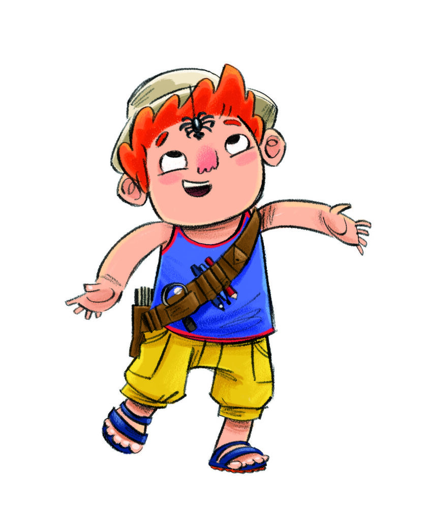 summer reading challenge character David