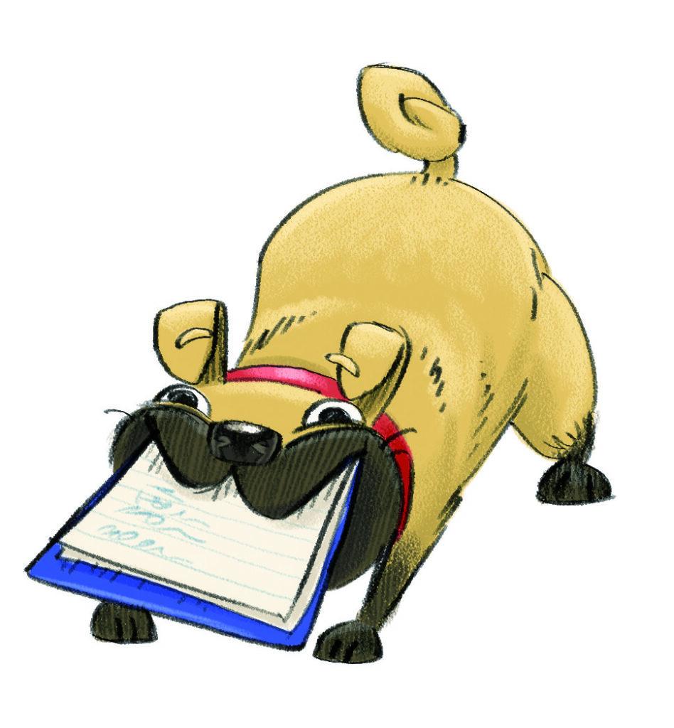 summer reading challenge character doug the dog