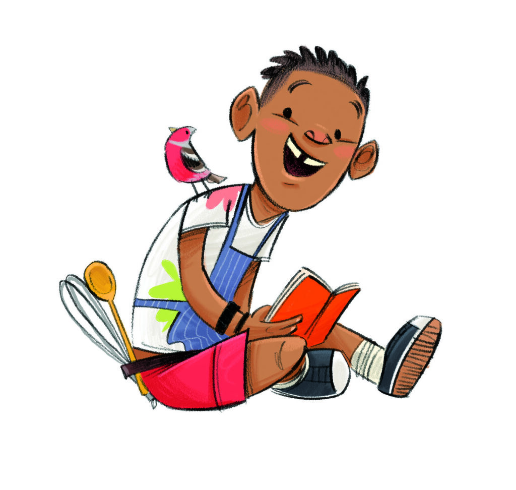 summer reading challenge character Marcus