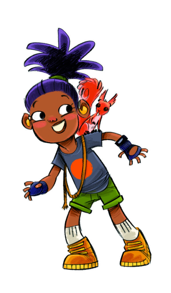 summer reading challenge character Willow